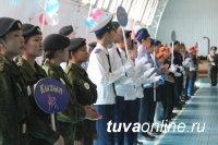 Чаа-Хольский отряд юных друзей полиции - лучший в Туве