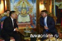 Шолбан Кара-оол: Инфраструктурные проекты Тувы и Енисейской Сибири – база расширения трансграничного сотрудничества с Азией
