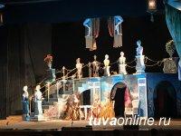 В Туве с большим успехом выступил коллектив прославленного московского театра им. Моссовета