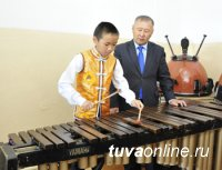 3-классник Намзырай Монгуш. Талант с запасом