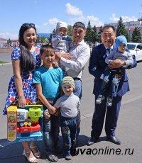 Глава Тувы поздравил с Днем защиты детей
