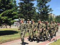 Всеармейский конкурс «Военное ралли» впервые стартовал в Туве