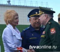 55-я мотострелковая горная бригада в Туве открыла летний период обучения