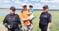 Сотрудниками полиции Тувы продолжаются мероприятия по проверке мест отдыха и купания граждан