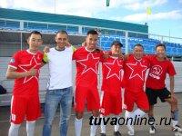 В честь Чемпионата мира по футболу в Кызыле проходят футбольные матчи любителей этой замечательной игры