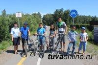 Сотрудники ГИБДД провели для юных кызылчан конкурс по велобезопасности