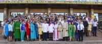 Поздравление Главы Республики Тыва Шолбана Кара-оола и Председателя Верховного Хурала Кан-оола Даваа с Наадымом