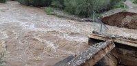 В Туве ливневые дожди. Глава Тувы призвал земляков воздержаться от выезда на сложные маршруты