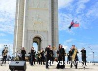 Тувинский духовой оркестр покорил Белгород на Параде духовых оркестров России
