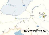 Землетрясение магнитудой 3,5 произошло в Туве