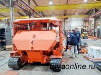 В Туве шахтеры ЕВРАЗ первыми в России ввели в эксплуатацию самоходную крепь