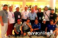 Тувинские спортсмены выиграли на Чемпионате России по борьбе два серебра и одно золото