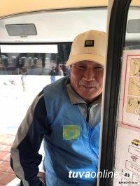 В Кызыле по просьбе жителей возобновлено движение маршрута № 5А на автобусах ПАЗ
