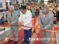 В День республики в Туве открылась уникальная экспозиция каменных шахмат