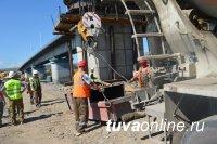 Ход реконструкции Коммунального моста проинспектировала Глава Кызыла