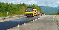 В Туве на трассе Р-257 дорожники завершили основные работы