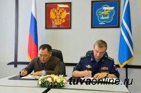 Глава Тувы и председатель центрального комитета ДОСААФ России подписали соглашение о сотрудничестве