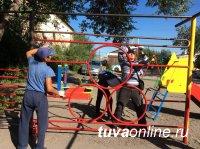 6 сентября, накануне Дня города, в Кызыле проходит субботник