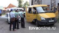 В столице Тувы арестована «Газель» нелегального перевозчика