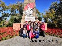 Ко Дню пожилых людей для старшего поколения юные экскурсоводы провели экскурсию по Кызылу