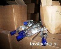 Кызылчанин организовал сеть по сбыту поддельного алкоголя