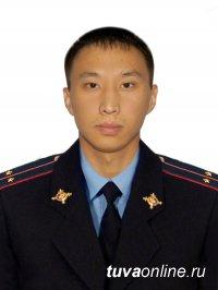 В Кызыле при задержании преступников погиб 27-летний участковый уполномоченный полиции Чаян Сенди-оол