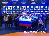 Молодежная сборная России по вольной борьбе вернула мировое лидерство