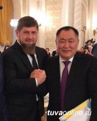 """Рамзан Кадыров: """"Мы всегда радуемся успехам Тувы!"""""""