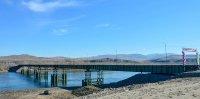 Два крупных труднодоступных села теперь соединяет с остальной частью Тувы новый мост