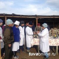 Тува: Студенты Сельхозтехникума проходят практику в фермерских хозяйствах