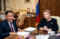 Министр просвещения РФ и Глава Тувы обсудили вопросы развития инфраструктуры образования