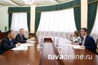 Дмитрий Патрушев обсудил развитие АПК Тувы с главой региона