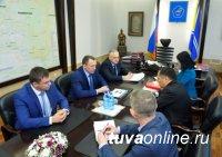 Глава Тувы и гендиректор Сибирской генерирующей компании обсудили вопросы подключения завершенных новостроек Кызыла к теплосетям