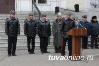 В МВД по Республике Тыва почтили память сотрудников, погибших при выполнении служебных обязанностей