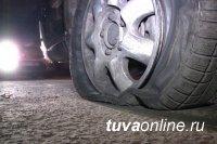 В Туве полицейским при преследовании пришлось применить табельное оружие