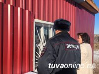 Демонтирован киоск на трассе Кызыл-Эрзин, в котором велась торговля алкоголем