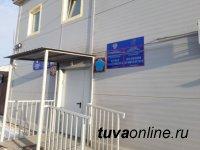 Министр МВД Тувы Щур проверил работу полиции в приграничном селе Хандагайты