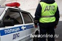 В Кызыле нетрезвый водитель оказал сопротивление инспекторам ДПС