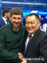 Шолбан Кара-оол и Рамзан Кадыров договорились о взаимном обмене делегаций Тувы и Чечни