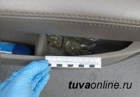 Госавтоинспекторами задержан подозреваемый в незаконном обороте наркотических веществ и угоне автомашины