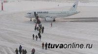 Из Кызыла в Москву на прямом авиарейсе вылетели 64 пассажира