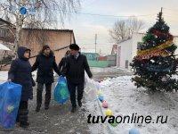«Тываэнерго» под Новый год дарит праздник детям, оставшимся без попечения родителей