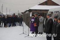 В Кызыле улица названа в честь погибшего при исполнении служебного долга участкового полицейского