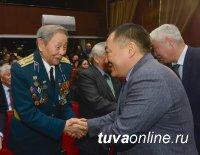 Глава Тувы на торжественном собрании поздравил ветеранов и работников ФСБ с профессиональным праздником