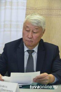 Глава Тувы выслушал представителей общественных и политических партий перед оглашением своего послания
