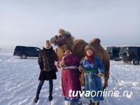 Журналисты побывали на чабанской стоянке «Кара-Чыраа» в часе езды от Кызыла