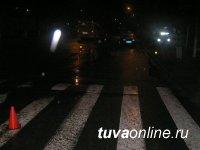 Пьяный водитель сбил кызылчанина, переходившего улицу на зеленый сигнал светофора, бросил машину, сбежал