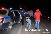 В Туве в дни новогодних праздников задержаны 80 нетрезвых водителей