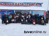Федерация лыжных гонок Тувы поблагодарила спонсоров за обеспечение школьников лыжным инвентарем