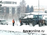 В Кызыле снова морозы - 41 градус. Занятия не посещают школьники 1-9 классов